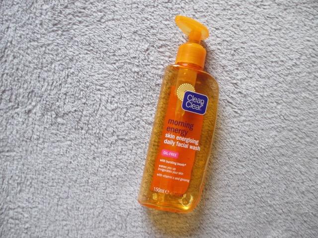 clean & clear fashial wash egletv