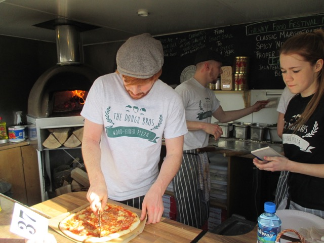 thedoughbros galway cutting pizza egletv