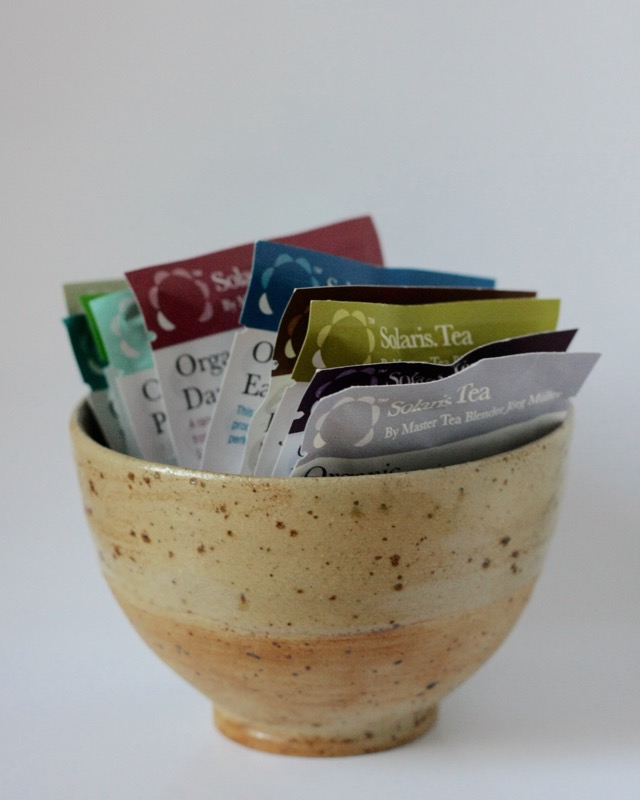 egleTV romas poterie cup solaris tea